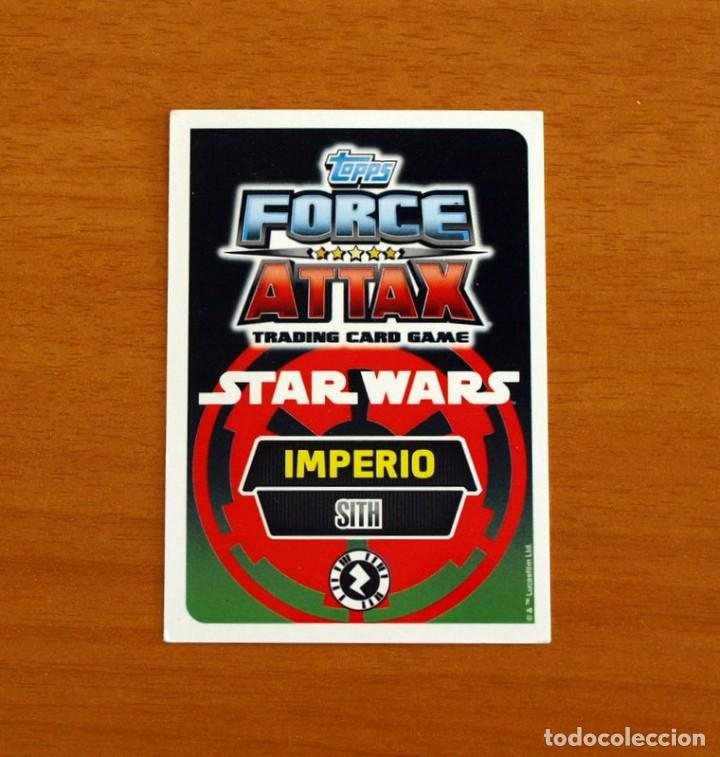 Trading Cards: Star Wars - Nº 27, Darth Vader, Sith - Topps Force Attax - Trading Card Game - Foto 2 - 284615803