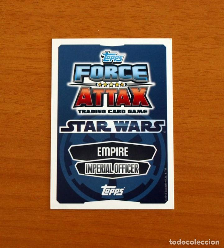 Trading Cards: Star Wars - Nº 30, General Veers, Imperial Officer - Topps Force Attax - Trading Card Game 2012 - Foto 2 - 284616488