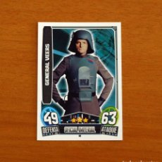 Trading Cards: STAR WARS - Nº 46, GENERAL VEERS, OFICIAL IMPERIAL - TOPPS FORCE ATTAX - TRADING CARD GAME 2013. Lote 284624288