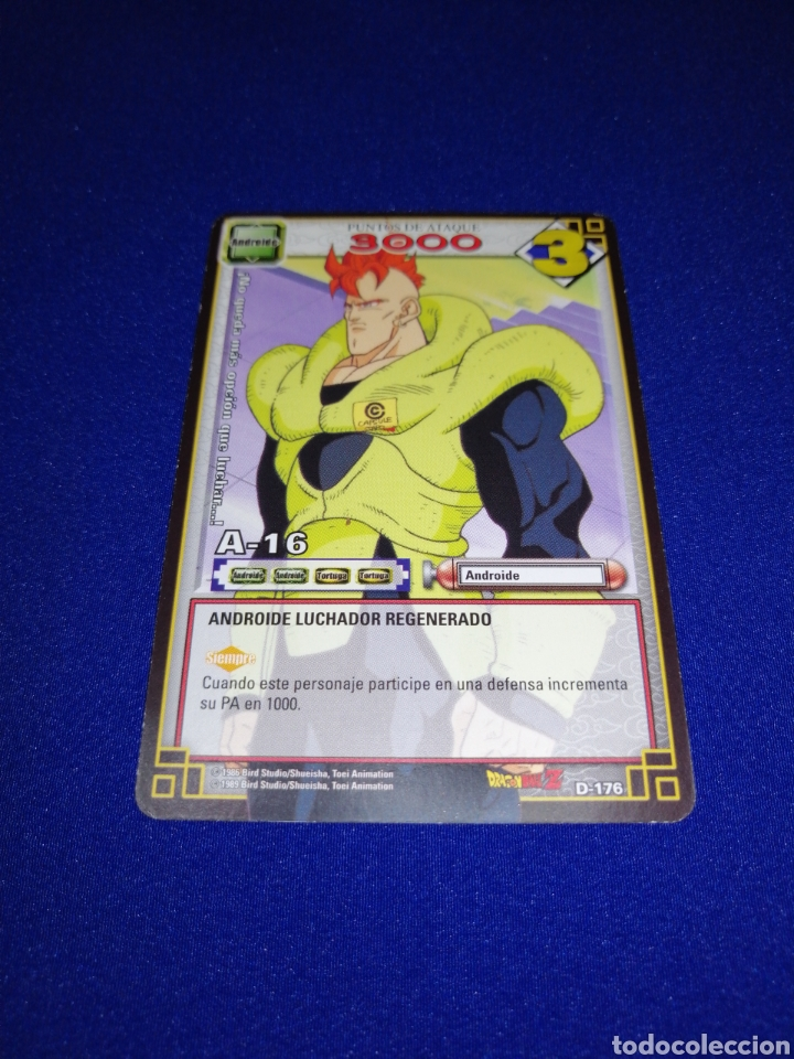 DRAGON BALL JUEGO DE CARTAS COLECCIONABLES D 176 (Coleccionismo - Cromos y Álbumes - Trading Cards)