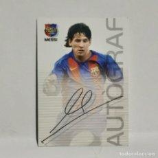 Trading Cards: ROOKIE 2004 - LIONEL MESSI Nº89 - BARÇA CAMPIÓ PANINI SPORTS. 2003 - 2004 MEGACRACKS. AUTÒGRAF / 30. Lote 287602018