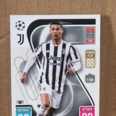 Trading Cards: MATCH ATTAX 21 22 - CRISTIANO RONALDO N°369 JUVENTOS. Lote 287676618
