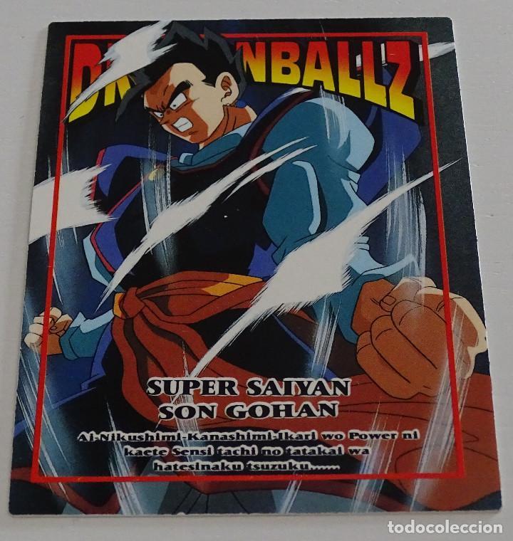 CROMO CARD (Nº 2) - AMADA DRAGON BALL Z MEMORIAL PHOTO (Coleccionismo - Cromos y Álbumes - Trading Cards)