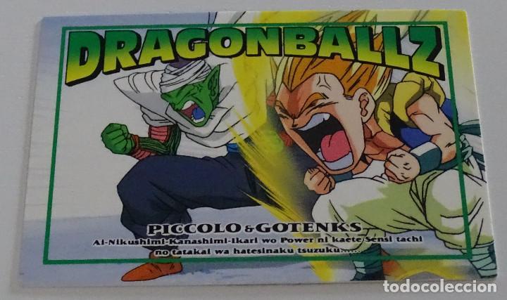 CROMO CARD (Nº 98) - AMADA DRAGON BALL Z MEMORIAL PHOTO (Coleccionismo - Cromos y Álbumes - Trading Cards)