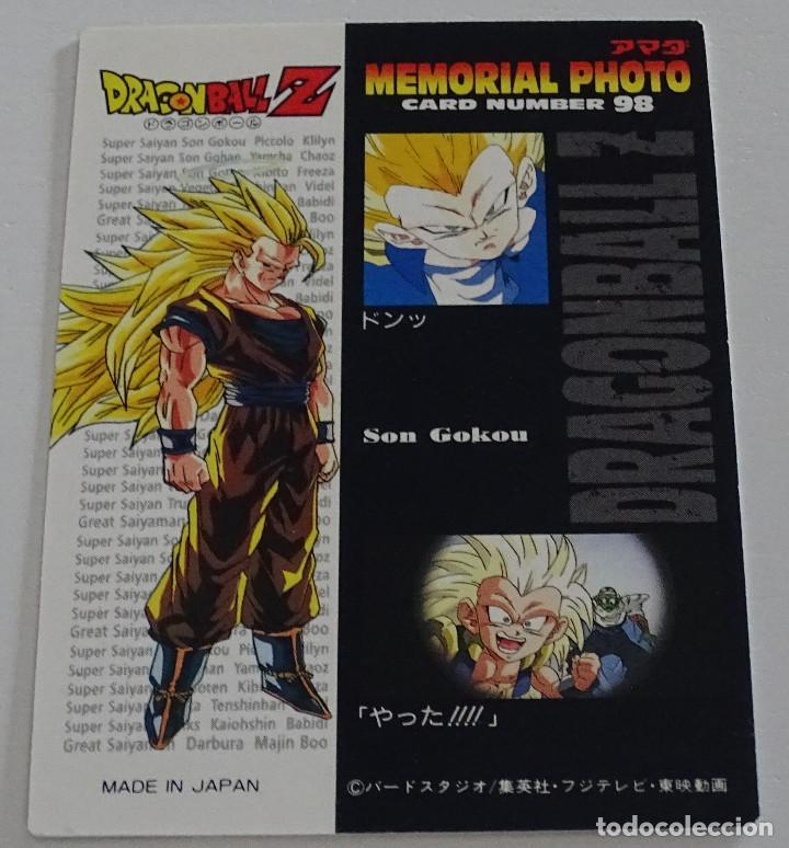 Trading Cards: Cromo Card (Nº 98) - Amada Dragon Ball Z Memorial Photo - Foto 2 - 287990548