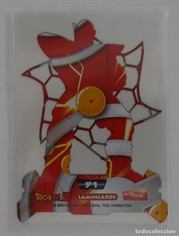 Trading Cards: Cromo Lamincard (Nº 91) - Edibas Dragon Ball Z New Edition Super 3D - Foto 2 - 288006248