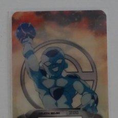 Trading Cards: CROMO LAMINCARD (Nº 112) - EDIBAS DRAGON BALL Z NEW EDITION SUPER 3D. Lote 288006673