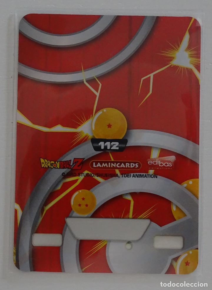 Trading Cards: Cromo Lamincard (Nº 112) - Edibas Dragon Ball Z New Edition Super 3D - Foto 2 - 288006673