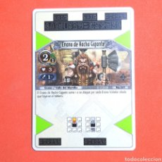 Trading Cards: (55.16) CARTA - THE EYE OF JUDGMENT - N°041 ENANO DE HACHA GIGANTE. Lote 288098833