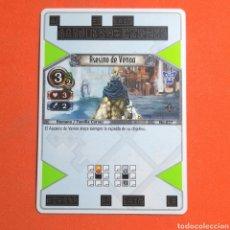 Trading Cards: (55.16) CARTA - THE EYE OF JUDGMENT - N°027 ASESINO DE VENOA. Lote 288099103