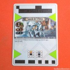 Trading Cards: (55.16) CARTA - THE EYE OF JUDGMENT - N°020 GUARDA DE TRITONIA. Lote 288099443