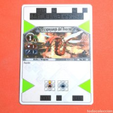 Trading Cards: (55.16) CARTA - THE EYE OF JUDGMENT - N°002 ESCUOEFUEGO DEL AVERNO. Lote 288099528