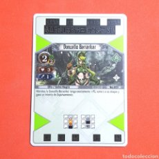 Trading Cards: (55.16) CARTA - THE EYE OF JUDGMENT - N°059 DONCELLA BERSERKER. Lote 288099743