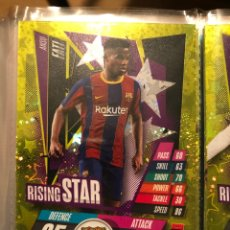 Trading Cards: RS1 ANSU FATI RISING STAR BARCELONA TOPPS MATCH ATAXX CHAMPIONS 20/21. Lote 288414298