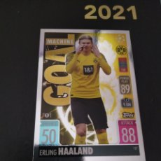 Trading Cards: HAALAND GOAL MACHINE TOPPS 2021 2022. Lote 288471063