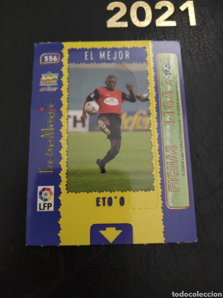 Trading Cards: Etoo 2005 El Mejor - Foto 2 - 289341438