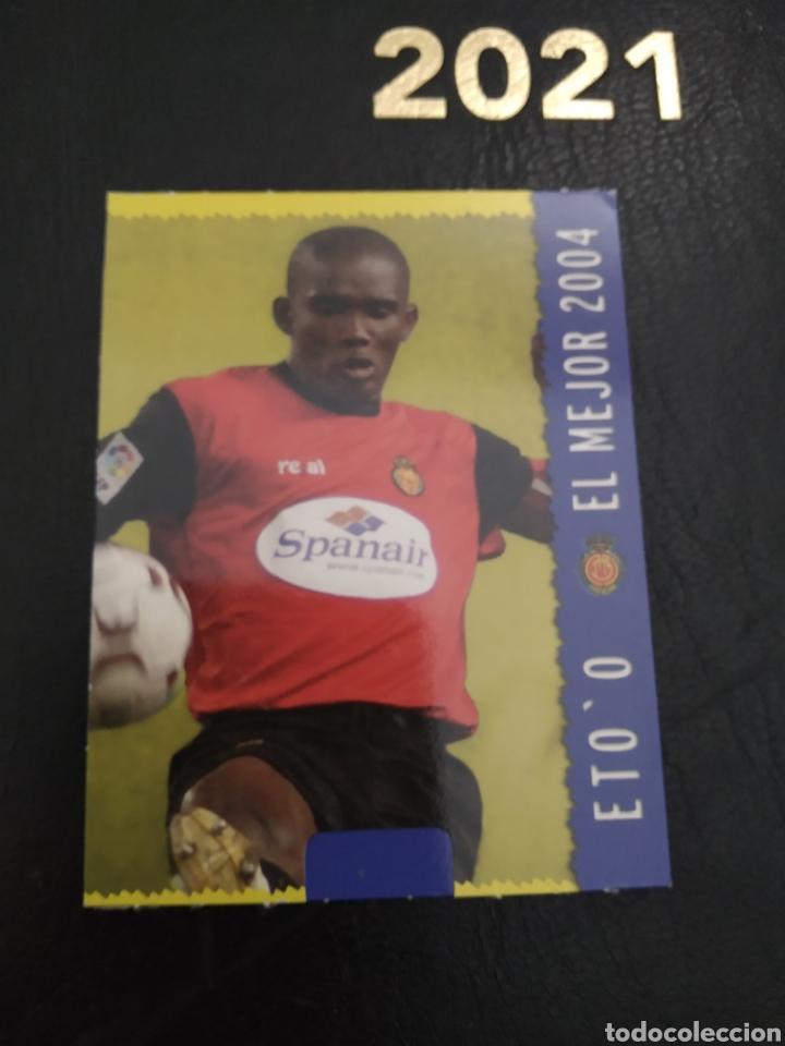 ETOO 2005 EL MEJOR (Coleccionismo - Cromos y Álbumes - Trading Cards)