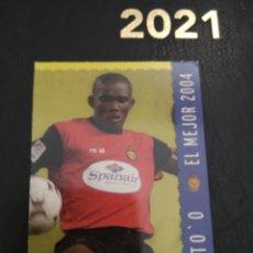 Trading Cards: ETOO 2005 EL MEJOR. Lote 289341438