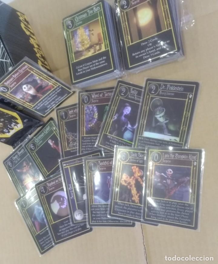 PESADILLA ANTES NAVIDAD SET COMPLETO CARTAS TCG NECA NBX FOILS RARAS C/NC PROMO (Coleccionismo - Cromos y Álbumes - Trading Cards)