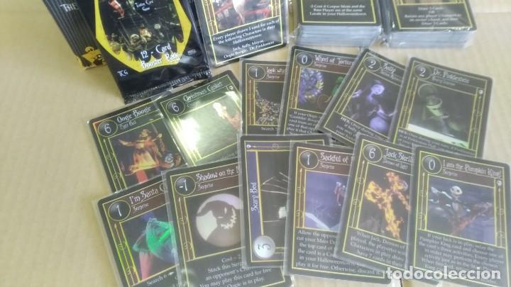 Trading Cards: Pesadilla antes navidad set completo cartas TCG Neca NBX foils raras c/nc promo - Foto 3 - 289341503