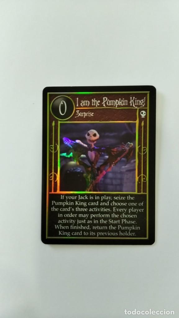 Trading Cards: Pesadilla antes navidad set completo cartas TCG Neca NBX foils raras c/nc promo - Foto 5 - 289341503