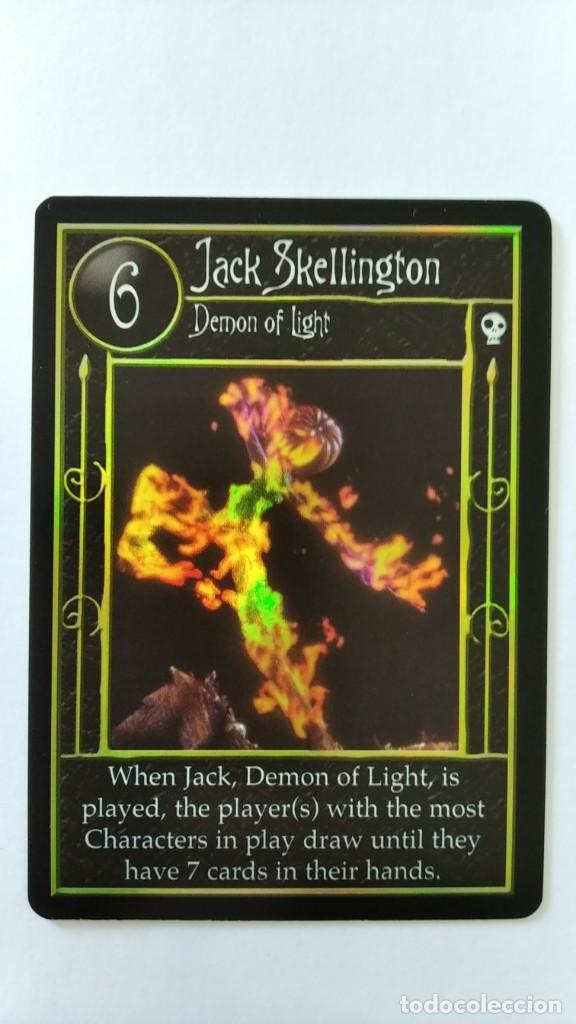 Trading Cards: Pesadilla antes navidad set completo cartas TCG Neca NBX foils raras c/nc promo - Foto 6 - 289341503