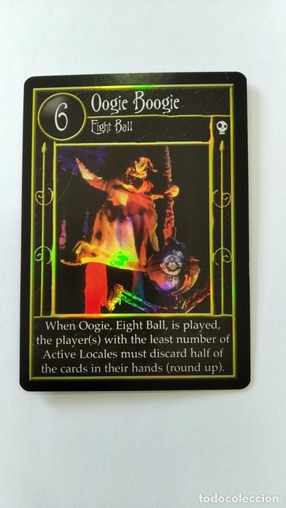 Trading Cards: Pesadilla antes navidad set completo cartas TCG Neca NBX foils raras c/nc promo - Foto 9 - 289341503