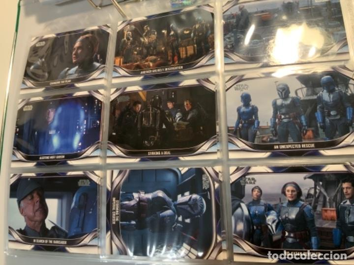 Trading Cards: Topps Star Wars USA 2021. The Mandalorian Temporada 2. Completa. 3 Inserts. Lata. Extras. - Foto 4 - 289343023