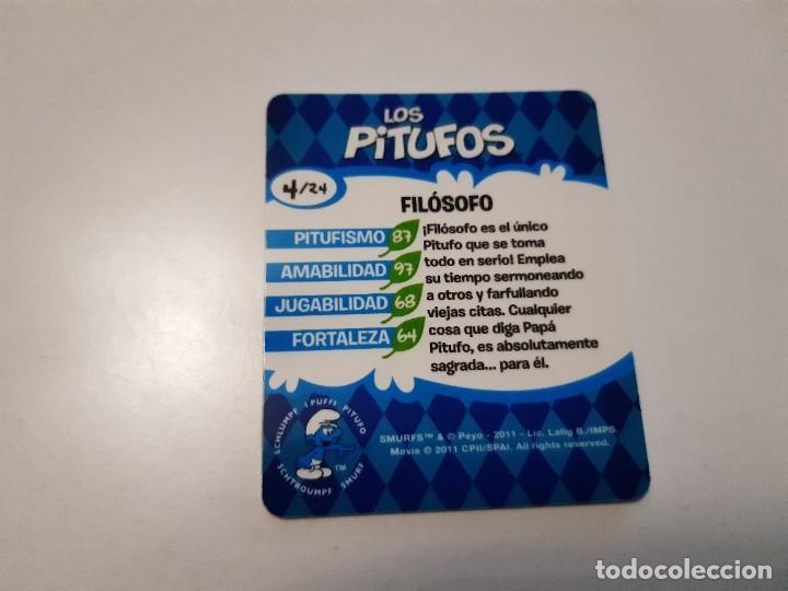 Trading Cards: LOS PITUFOS CARTA 3D FILOSOFO 4/24 - SMURFS - Foto 2 - 289347163