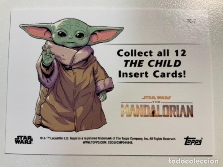 Trading Cards: Topps Star Wars USA 2021. The Mandalorian Temporada 2. Completa. 3 Inserts. Lata. Extras. - Foto 10 - 289343023