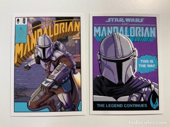 Trading Cards: Topps Star Wars USA 2021. The Mandalorian Temporada 2. Completa. 3 Inserts. Lata. Extras. - Foto 5 - 289343023