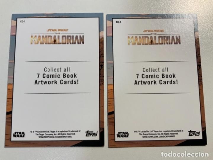 Trading Cards: Topps Star Wars USA 2021. The Mandalorian Temporada 2. Completa. 3 Inserts. Lata. Extras. - Foto 6 - 289343023