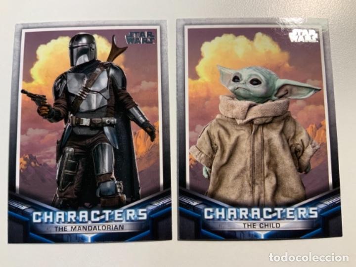 Trading Cards: Topps Star Wars USA 2021. The Mandalorian Temporada 2. Completa. 3 Inserts. Lata. Extras. - Foto 7 - 289343023