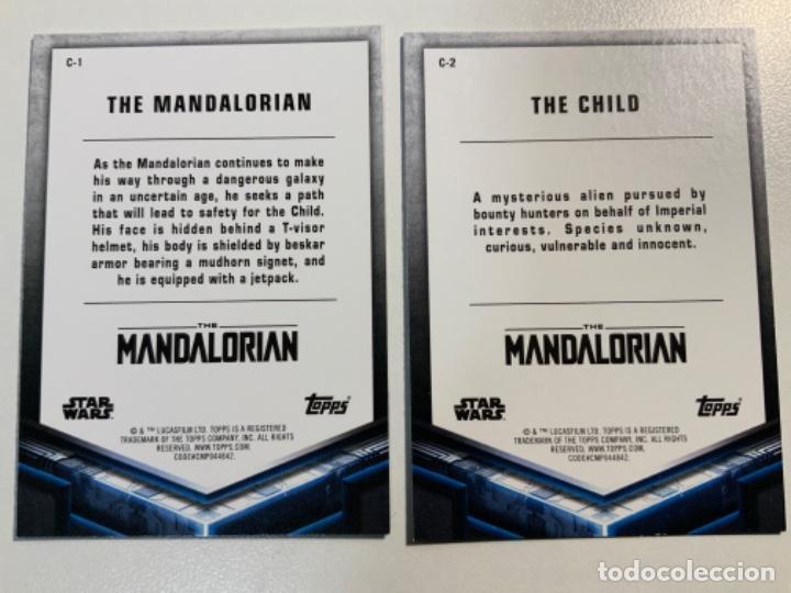 Trading Cards: Topps Star Wars USA 2021. The Mandalorian Temporada 2. Completa. 3 Inserts. Lata. Extras. - Foto 8 - 289343023