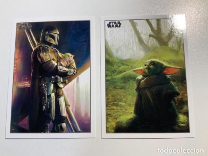 Trading Cards: Topps Star Wars USA 2021. The Mandalorian Temporada 2. Completa. 3 Inserts. Lata. Extras. - Foto 9 - 289343023