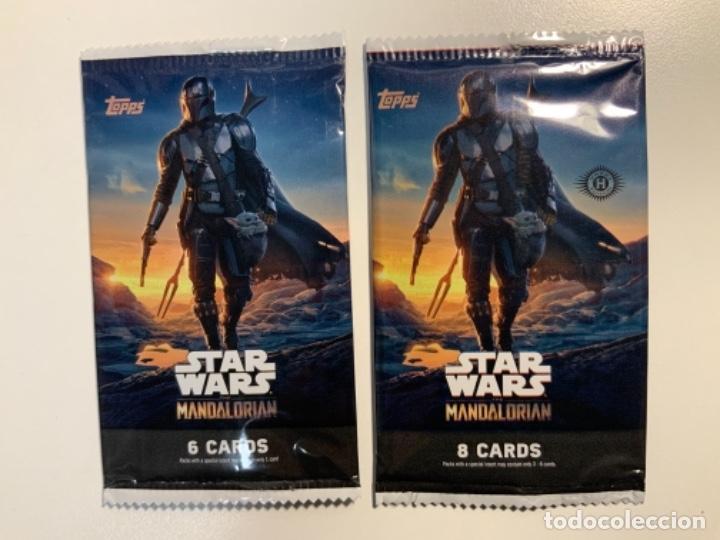 Trading Cards: Topps Star Wars USA 2021. The Mandalorian Temporada 2. Completa. 3 Inserts. Lata. Extras. - Foto 11 - 289343023