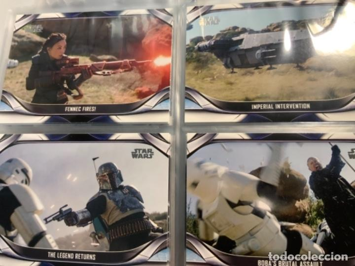 Trading Cards: Topps Star Wars USA 2021. The Mandalorian Temporada 2. Completa. 3 Inserts. Lata. Extras. - Foto 12 - 289343023