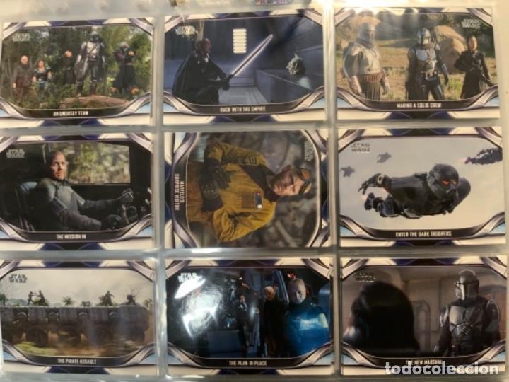 Trading Cards: Topps Star Wars USA 2021. The Mandalorian Temporada 2. Completa. 3 Inserts. Lata. Extras. - Foto 13 - 289343023