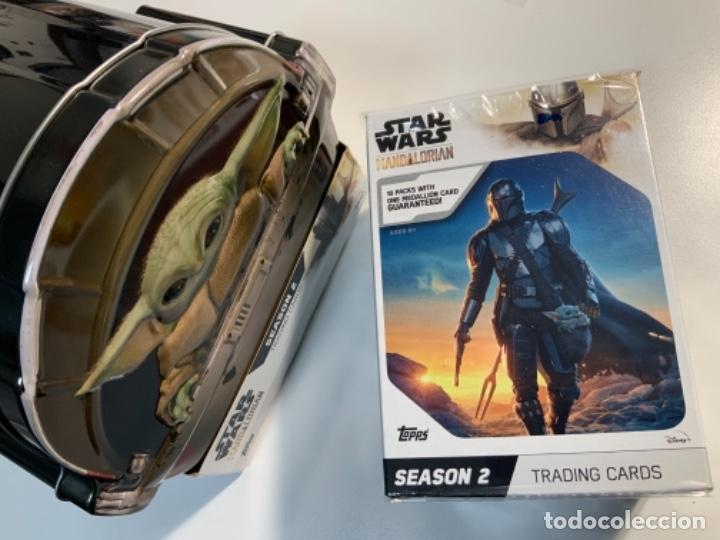 Trading Cards: Topps Star Wars USA 2021. The Mandalorian Temporada 2. Completa. 3 Inserts. Lata. Extras. - Foto 16 - 289343023