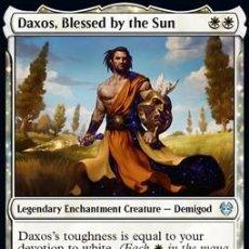 Trading Cards: CARTA MTG MAGIC GATHERING DAXOS BENDECIDO SOL THEROS MÁS ALLÁ DE LA MUERTE 2020 ESPAÑOL. Lote 289684643