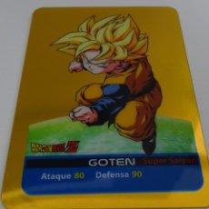 Trading Cards: CROMO LAMINCARD (Nº 22) - EDIBAS MUNDICROMO DRAGON BALL Z SERIE ORO (DORADA). Lote 290089453