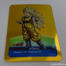 Trading Cards: CROMO LAMINCARD (Nº 14) - EDIBAS MUNDICROMO DRAGON BALL Z SERIE ORO (DORADA). Lote 290089843