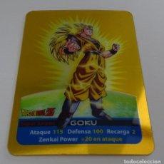 Trading Cards: CROMO LAMINCARD (Nº 16) - EDIBAS MUNDICROMO DRAGON BALL Z SERIE ORO (DORADA). Lote 290089858