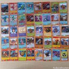 Trading Cards: LOTE 68 CARTAS DE INVIZIMALS PANINI TRADING CARDS. Lote 290095078