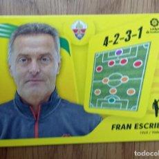 Trading Cards: CROMO FUTBOL ENTRENADORES - LIGA ESTE 2021 2022 21/22. Lote 290116463