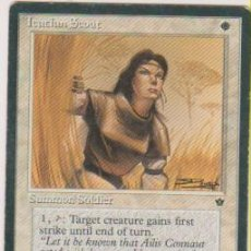 Trading Cards: MTG MAGIC THE GATHERING ICATIAN SCOUT SUMMON SOLDIER CARD NAIPE CROMO M. Lote 290145913