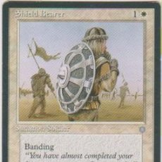 Trading Cards: MTG MAGIC THE GATHERING SHIELD BEARER SUMMON SOLDIER CARD NAIPE CROMO M. Lote 290145948