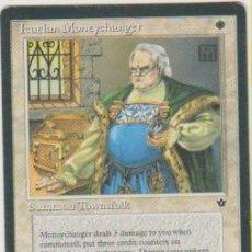 Trading Cards: MTG MAGIC THE GATHERING ICATIAN MONEYCHANGER SUMMON TOWNSFOLK CARD NAIPE CROMO M. Lote 290146053