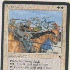Trading Cards: MTG MAGIC THE GATHERING ORDER OF LEITBUR SUMMON CLERIES CARD NAIPE CROMO M. Lote 290146213