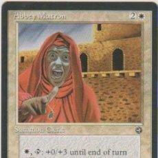 Trading Cards: MTG MAGIC THE GATHERING ABBEY MATRON SUMMON CLERIC CARD NAIPE CROMO M. Lote 290146233